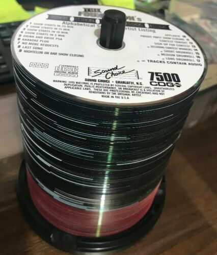 SOUND CHOICE FOUNDATIONS AND BRICKS - 7500-7600 - COMPLETE 100 DISC SET - CDG