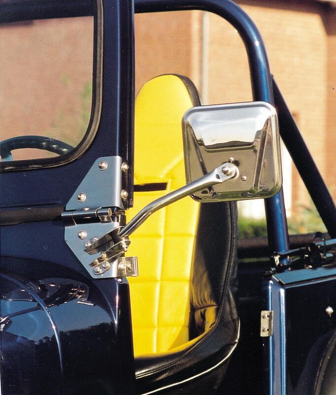 2x Ersatzspiegel Jeep Wrangler TJ YJ AMC CJ Spiegelkopf Außenspiegelkopf Spiegel