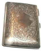 Silver Cigarette Case