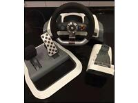 Xbox 360 official steering wheel
