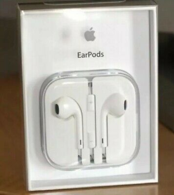Apple Earpods Earbuds Earphones Headphones for iPhone 5 5s 6 6s iPad MD827LL/A