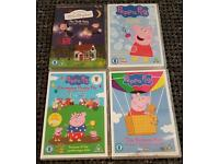 Peppa pig and Ben n holly dvds