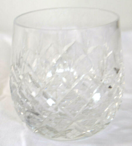 Baccarat COLBERT (CUT) Whisky Glass Signed A.L 3.60""