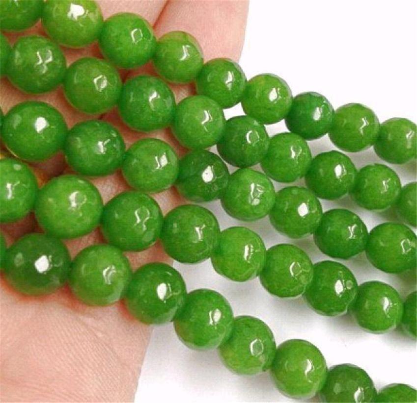 """6 mm Rose à Facette Rondelle jade gemstond Loose Beads 15/"""""""