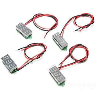0.28 Mini Digital Voltmeter Panel Mount Led Voltage Volt Meter Dc 2.5030v Yun
