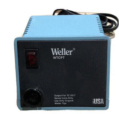 Weller Power Unit Wtcpt Temp Controlled Soldering Station Only.