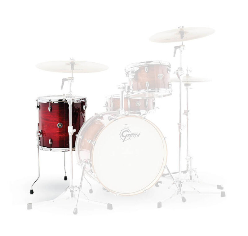 Gretsch Catalina Club 14x14 Ft Gloss Crimson Burst  - 776798