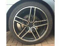 """18"""" bmw alloys and tyres ac schnitzer"""