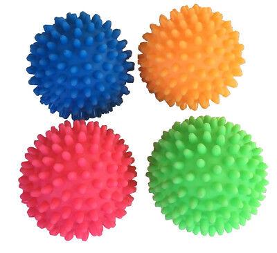4 x Massageball Massagebälle Igelbälle Noppenball ca. 7 cm Durchmesser