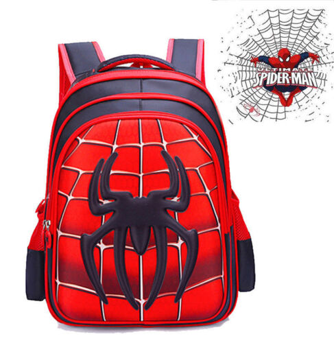 US Spider-Man Homecoming School Bag Backpack Bag For Boys Kids Children Gift