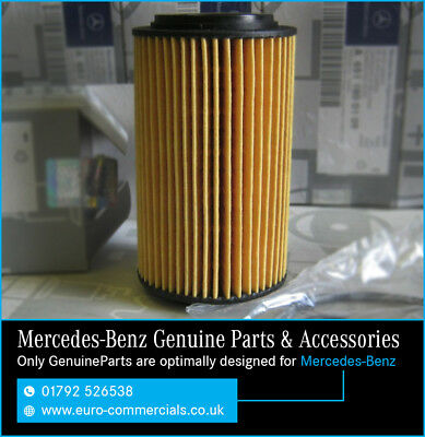 Genuine Mercedes-Benz OM651 Engine Oil Filter Vito/Sprinter With Sump Washer