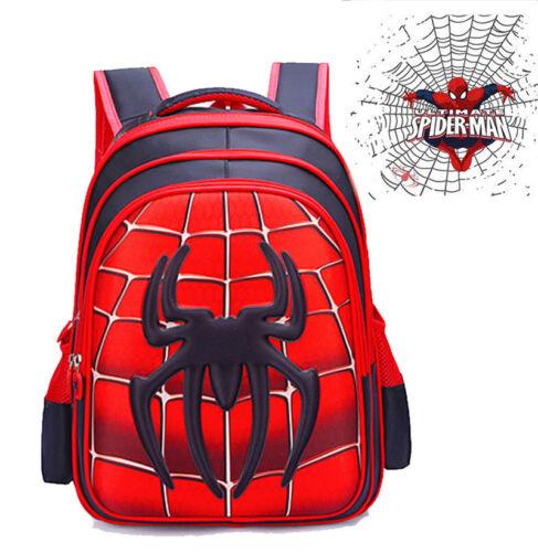 USA Spider-Man Homecoming School Bag Backpack Bag for Boys K