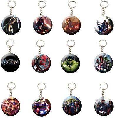 "Avengers 2.25"" Backpack Keychains Party Favors Giveaways - 12 pcs (1 Dozen) - Avenger Party"