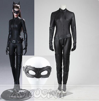 Halloween Catwoman Costume Dark Knight Rises (The Dark Knight Rises Selina Kyle Catwoman Cosplay Costume Halloween)