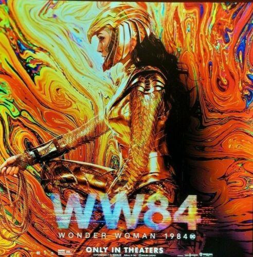 WONDER WOMAN 1984 WW84 2020 Original 8X8