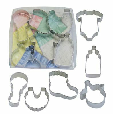 Baby/Baby Shower New Arrival Shaped Cookie Cutter Set - 6 Pieces Shaped Cookie Cutter Set