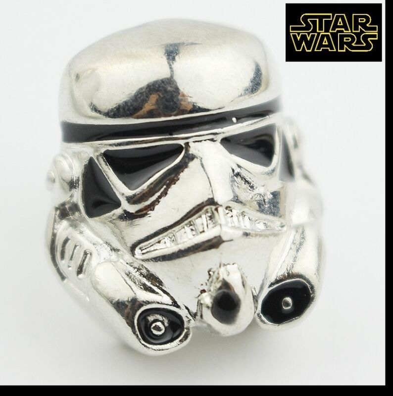 STAR WARS STORMTROOPER Logo Metal Pin brooch prop badge darth vader cosplay