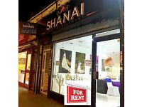 RETAIL SHOP, CAFE or OFFICE UNIT TO LET