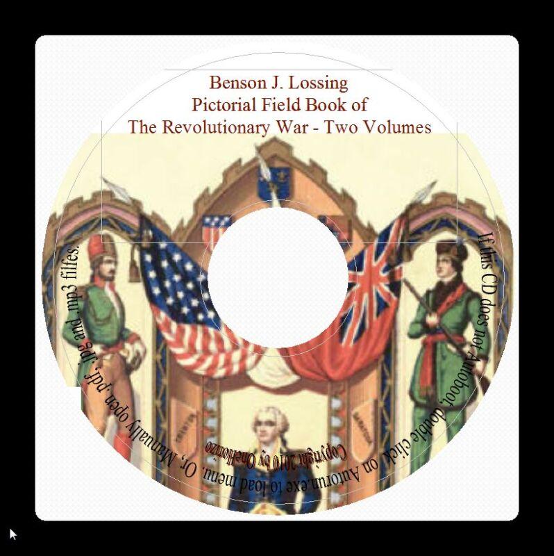 Revolutionary War Pictorial Field Book-Virginia History