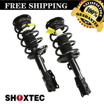 Front Pair(2) Complete Strut w/ Coil Spring Fits 2004-2012 Chevrolet Malibu