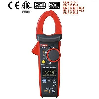 Uni-t Ut216d True Rms Digital Clamp Meter Ac Dc Multimeter Inrush Current Tester