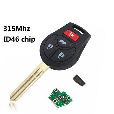 for Nissan Versa TIIDA Sunny NV200 Sylphy Qashqai March remote key 315MHZ 31BTN