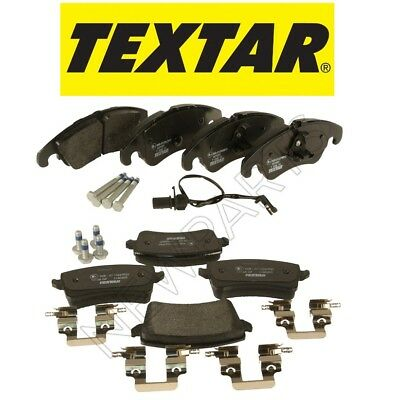 For Audi A4 Quattro S4 S5 allroad Set of Front & Rear Brake Pad Set OEM Textar