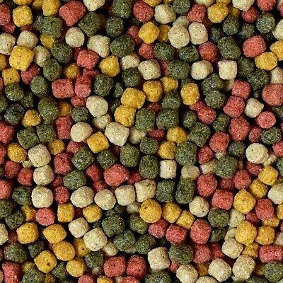 KOIFUTTER Mix 5 kg *4 Sorten Multi Mix* Pelletgröße 3mm - 6mm Koi Fischfutter