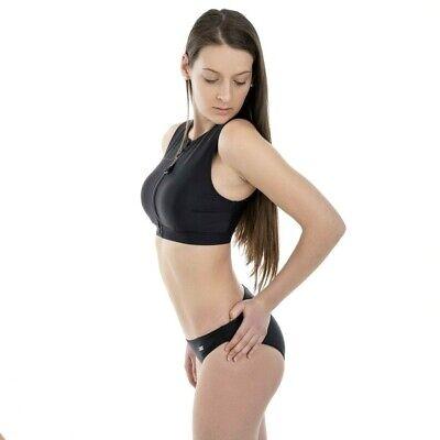 BENCH Bustier Bikini Slip und Oberteil Schwarz Damen Tankini NEU - Größe 40