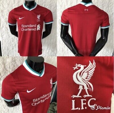 Liverpool Jersey Home Men 2020-2021 Size Large