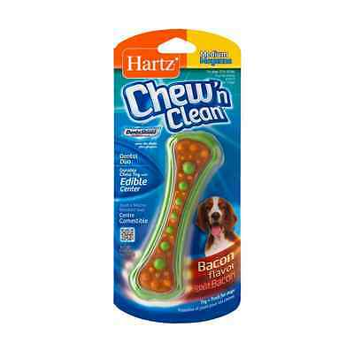 Hartz Chew N' Clean Dental Duo Dog Chew - Toy 1 ea