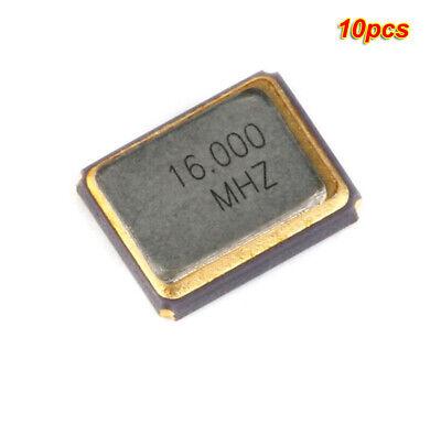 10pcs 16mhz 9pf 3225 Smd Passive Quartz Resonator Crystal Oscillator