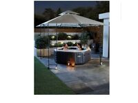 Intex inflatable 4 person hot tub/spa pool.