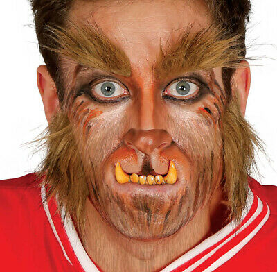 Hombre Lobo Eyebrows & Patillas Teen Wolf Disfraz de Halloween](Hombre Lobo Halloween)