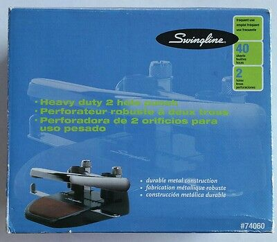 Swingline Heavy Duty 2 Hole Punch