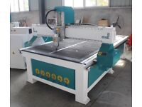 CKJ1325 1300X2500 CNC Router 240v 3.2 kw spindle twin Vac pumps