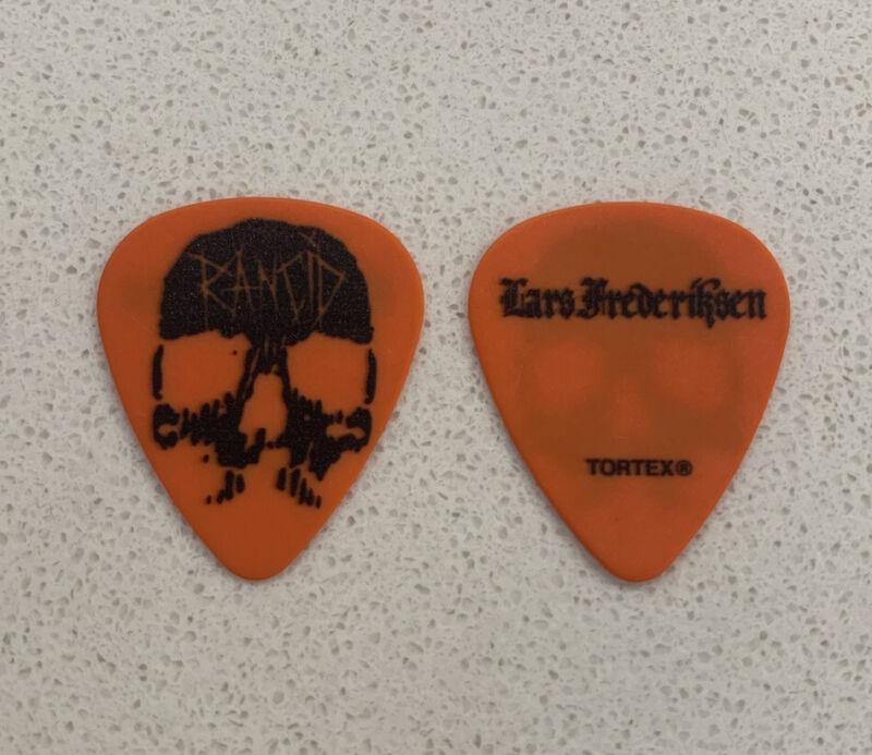 RANCID Lars Fredericksen 2019 Tour Issue Guitar Pick Transplants UK SUBS
