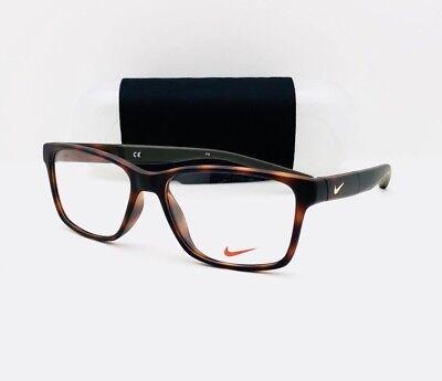 New Nike Eyeglasses 7091 INT 200 Tortoise 54•16•140 With Nike Case