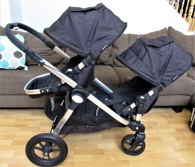 Baby Jogger City Select Double Stroller w/ 2nd Seat Kit - Black