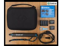 Smatree Original Accessories for Gopro Hero 4 (Charger+Battery-Carrying Case-Carbon Fiber Hand Grip)