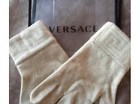 AUTHENTIC VERSACE GLOVES
