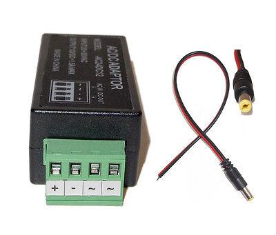 AC 24V To DC 12V Power Supply Converter Adapter For CCTV Security Camera Dc jack