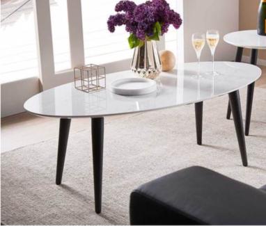 Monaco - Marble Look Coffee Table