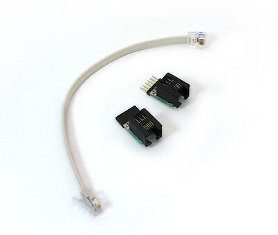 Pickit3 Icd2 Icd3 Microchip Icsp To Rj11 Converter Adapter Willem Programmer