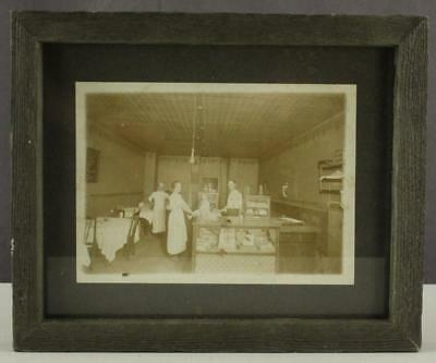 Vintage Photo Late 1800 Dining Room Cigar Cigarette Tobacco Sales General Store