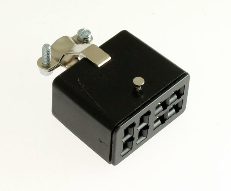 2pcs Beau Cinch S308CCT Jones 8 Pin Socket 38331-8008 Connector Cable Clamp Top