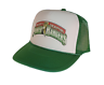 Mighty Morphan Power Rangers hat Trucker Hat Mesh Hat green new adjustable
