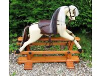 VINTAGE ROCKING HORSE FOR SALE