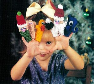 Puppet Mittens, Puppets, and Finger Puppets Knit and