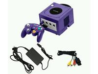 Gamecube 2 controls 2 memory cards 22 games swap for xbox 360 plus games or new 3ds xl with games
